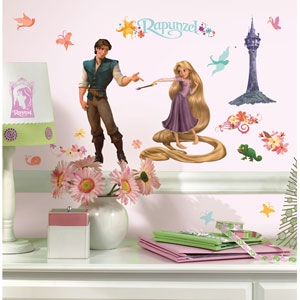 Tangled - Rapunzel Peel and Stick Wall Decal
