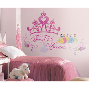 Disney Princess - Princess Crown Peel and Stick Giant Wall Decal