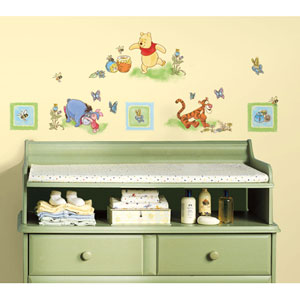 Winnie the Pooh - Toddler Peel and Stick Wall Decals