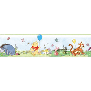 Winnie the Pooh - Toddler Peel and Stick Border