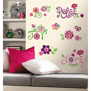 Love, Joy, Peace Peel and Stick Wall Decals
