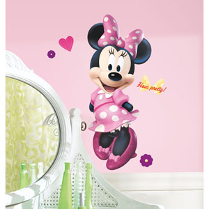 Mickey and Friends - Minnie Bow-tique Peel and Stick Giant Wall Decal