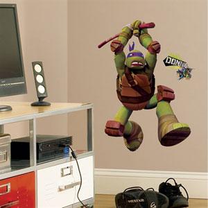 Teenage Mutant Ninja Turtles Don Peel & Stick Giant Wall Decals