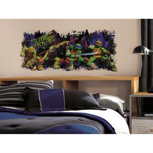 Teenage Mutant Ninja Turtle Trouble Graphix Peel & Stick Wall Decals