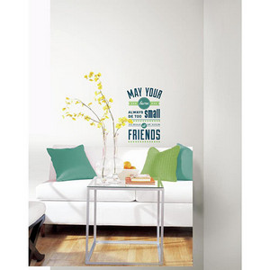 Deco Blue Room for Friends Peel and Stick Wall Decal