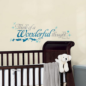 Popular Characters Blue Peter Pan Wonderful Thought Peel and Stick Wall Decal