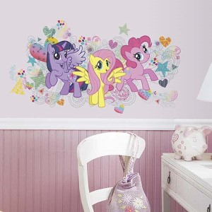 My Little Pony Wall Graphix Peel and Stick Wall Decals