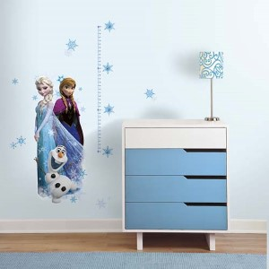 Frozen Peel and Stick Growth Chart