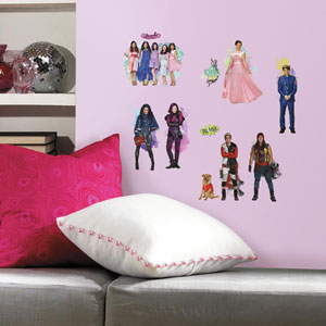 Popular Characters Descendants Peel and Stick Wall Decals