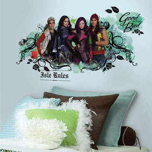 Popular Characters Descendants Isle of the Lost Peel and Stick Wall Graphic