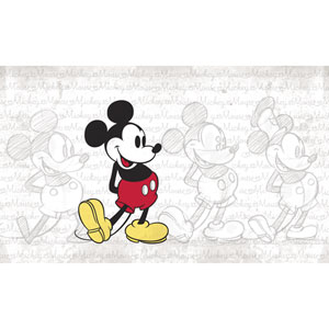 Mickey Mouse Peel and Stick Mural