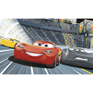 Cars 3 Peel and Stick Mural