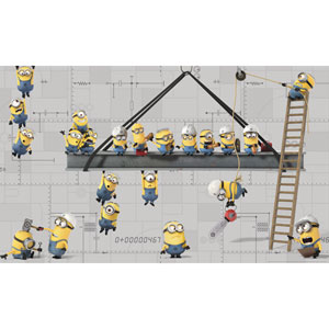 Minnions Peel and Stick Mural