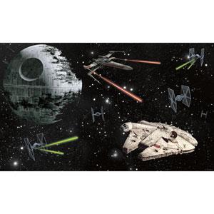 Star Wars Peel and Stick Mural