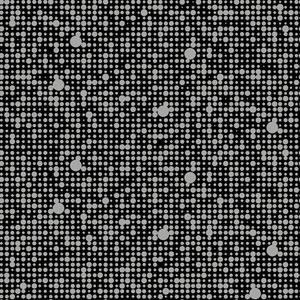 Black Polka Dot Peel and Stick Wall Décor