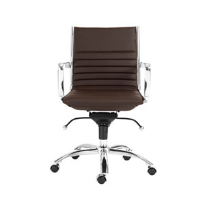 Dirk Brown Low Back Office Chair