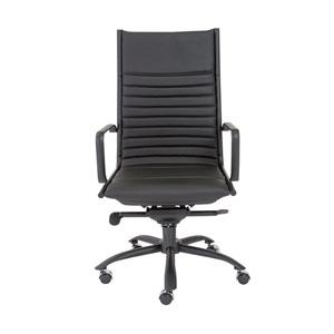 Dirk Black High back Chair