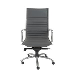 Dirk Gray High back Chair