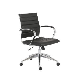 Axel Black 23-Inch Low Back Office Chair