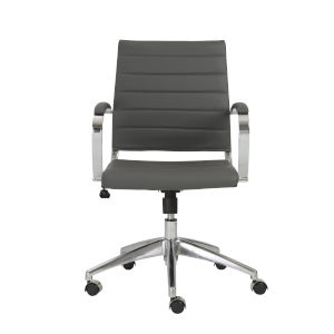 Axel Gray 23-Inch Low Back Office Chair