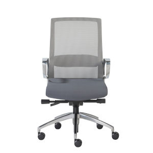 Alpha Gray 26-Inch Office Chair