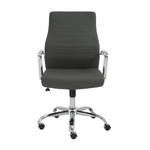 Fenella Gray 23-Inch Low Back Office Chair