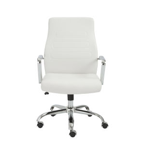 Fenella White 23-Inch Low Back Office Chair