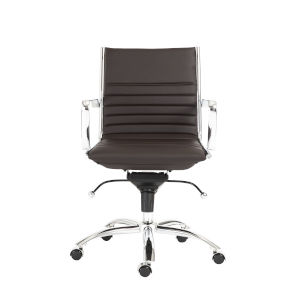 Dirk Brown 27-Inch Low Back Office Chair