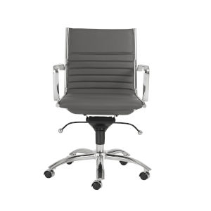 Dirk Gray 27-Inch Low Back Office Chair