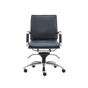 Gunar Blue 26-Inch Pro Low Back Office Chair