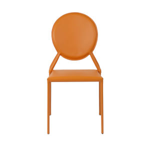 Isabella Orange 19-Inch Side Chair, Set of 2