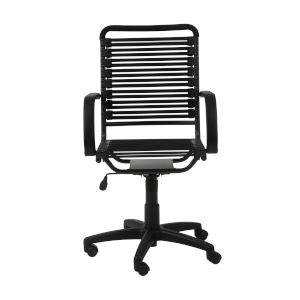 Bungie Black 23-Inch Flat High Back Office Chair