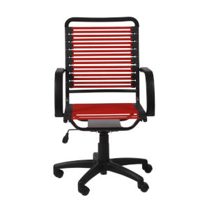 Bungie Red 23-Inch Flat High Back Office Chair