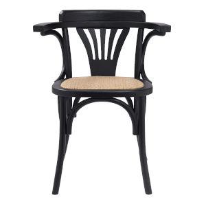 Adna Black 24-Inch Arm Chair
