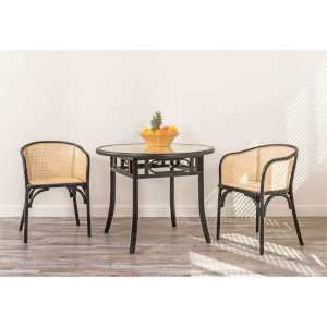 Adna Black 39-Inch Dining Table
