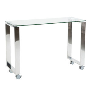 Diego Clear 39-Inch Side Return