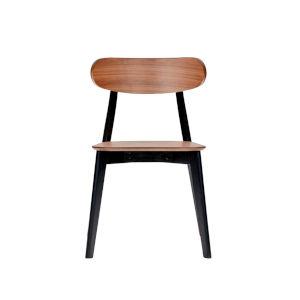Rangsey Walnut 19-Inch Dining Chair, Set of 2