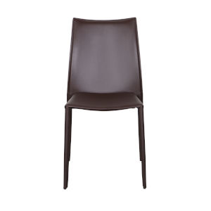 Dalia Brown 19-Inch Pro Stacking Side Chair, Set of 4