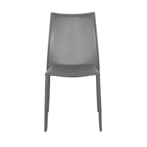 Dalia Gray 19-Inch Pro Stacking Side Chair, Set of 4