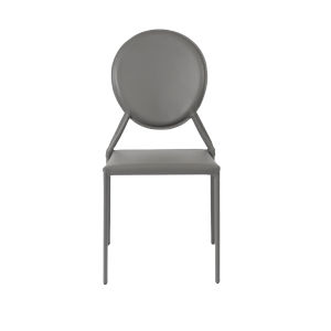 Isabella Gray 19-Inch Side Chair, Set of 2