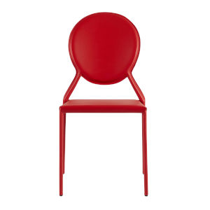 Isabella Red 19-Inch Side Chair, Set of 2