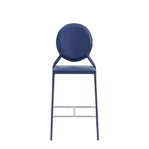 Isabella Blue 20-Inch Counter Stool, Set of 2