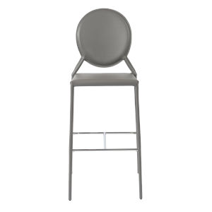 Isabella Gray 19-Inch Bar Stool, Set of 2