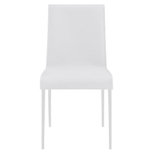 Cam White 18-Inch Side Chair, Set of 2