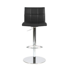 Cyd Black 18-Inch Adjustable Stool