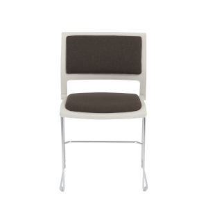 Raylan Gray 19-Inch Stacking Side Chair, Set of 4