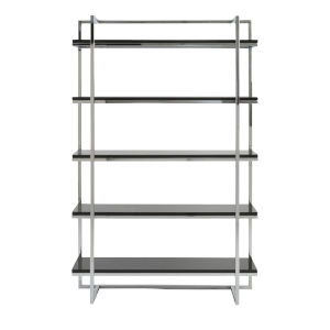 Gilbert Black 39-Inch 5 Shelf Unit
