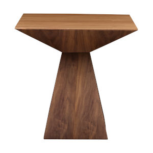 Tad Walnut 22-Inch Side Table