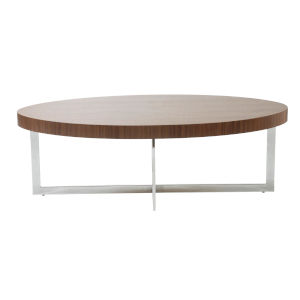 Oliver Walnut 47-Inch Coffee Table