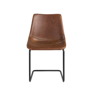 Flynn Brown 19-Inch Side Chair, Set of 2